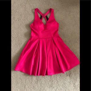 Hot pink dress juniors